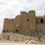 entrance to ajloun castle