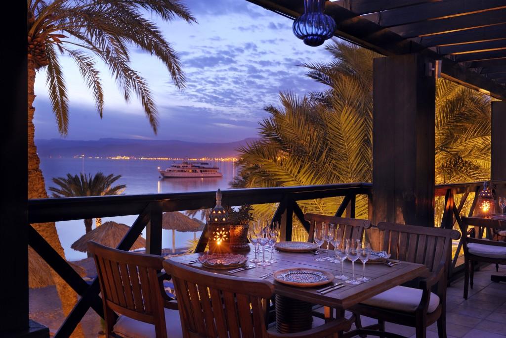 restaurant aqaba sea view sunset