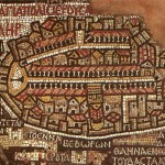 Mosaic madaba map jordan