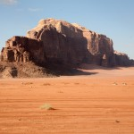desert mountains wadi rum