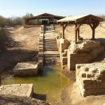 baptism pool at bethany, Jordan