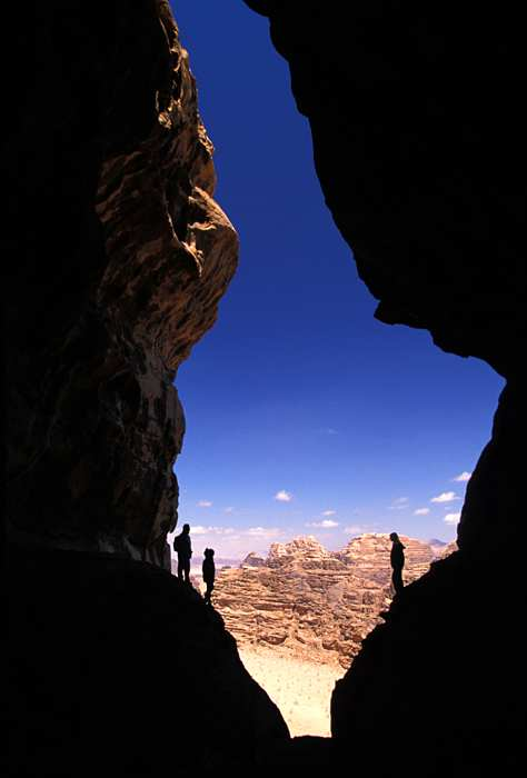 trekking in wadi rum jordan hike trails
