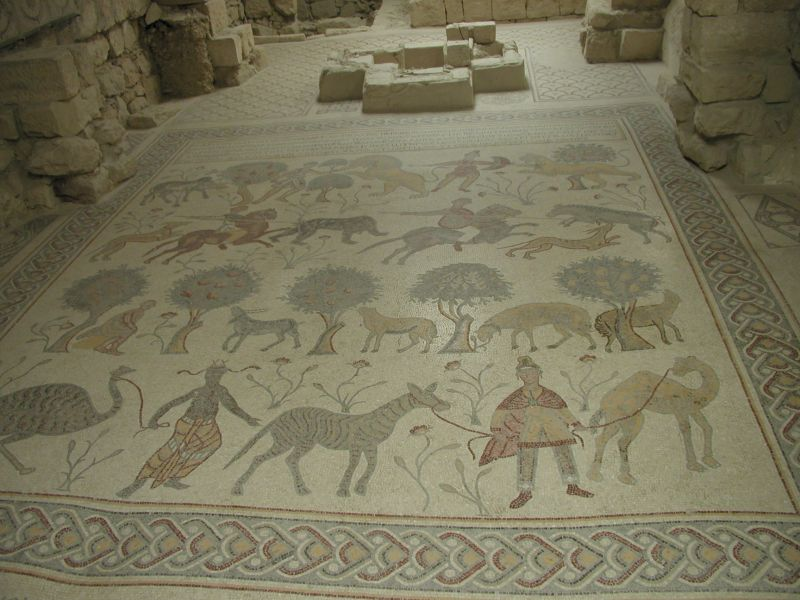 church of moses mosaic mount nebo jordan