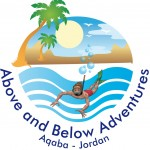 above and below adventures logo