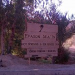 evason ma'in hot springs resort and spa sign