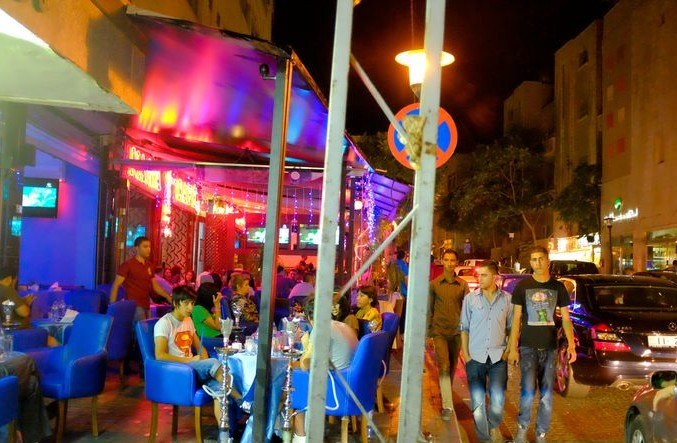 amman rainbow street nightlife