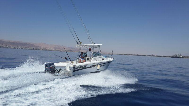 sport fishing private charter, aqaba