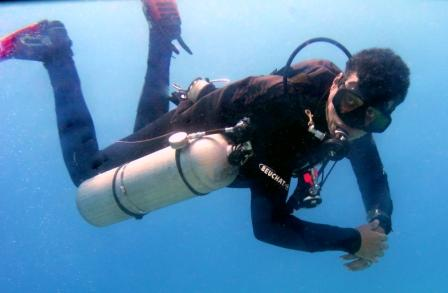 PADI sidemount diving, courses, Aqaba, Jordan