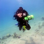 tec diver underwater aqaba red sea jordan