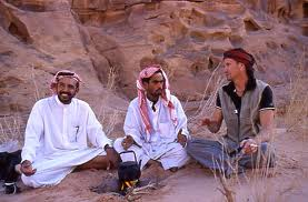 wilfried and bedouin guides