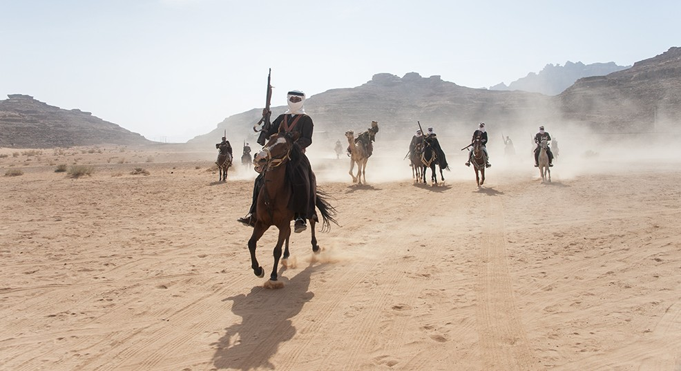 Journey through 1916 - Arab revolt Wadi rum