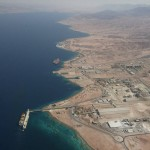 aqaba south beach coast line