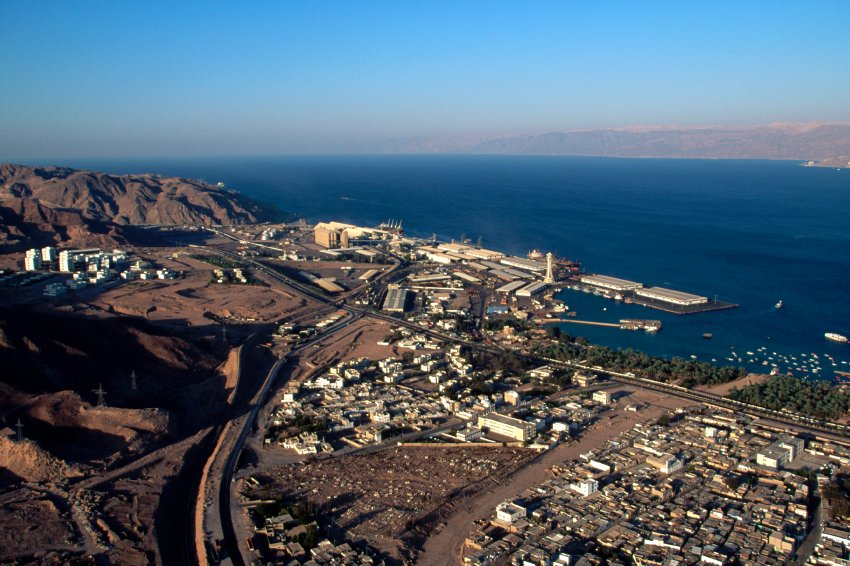Aerial View of Aqaba