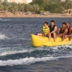 banana boat red sea water sports