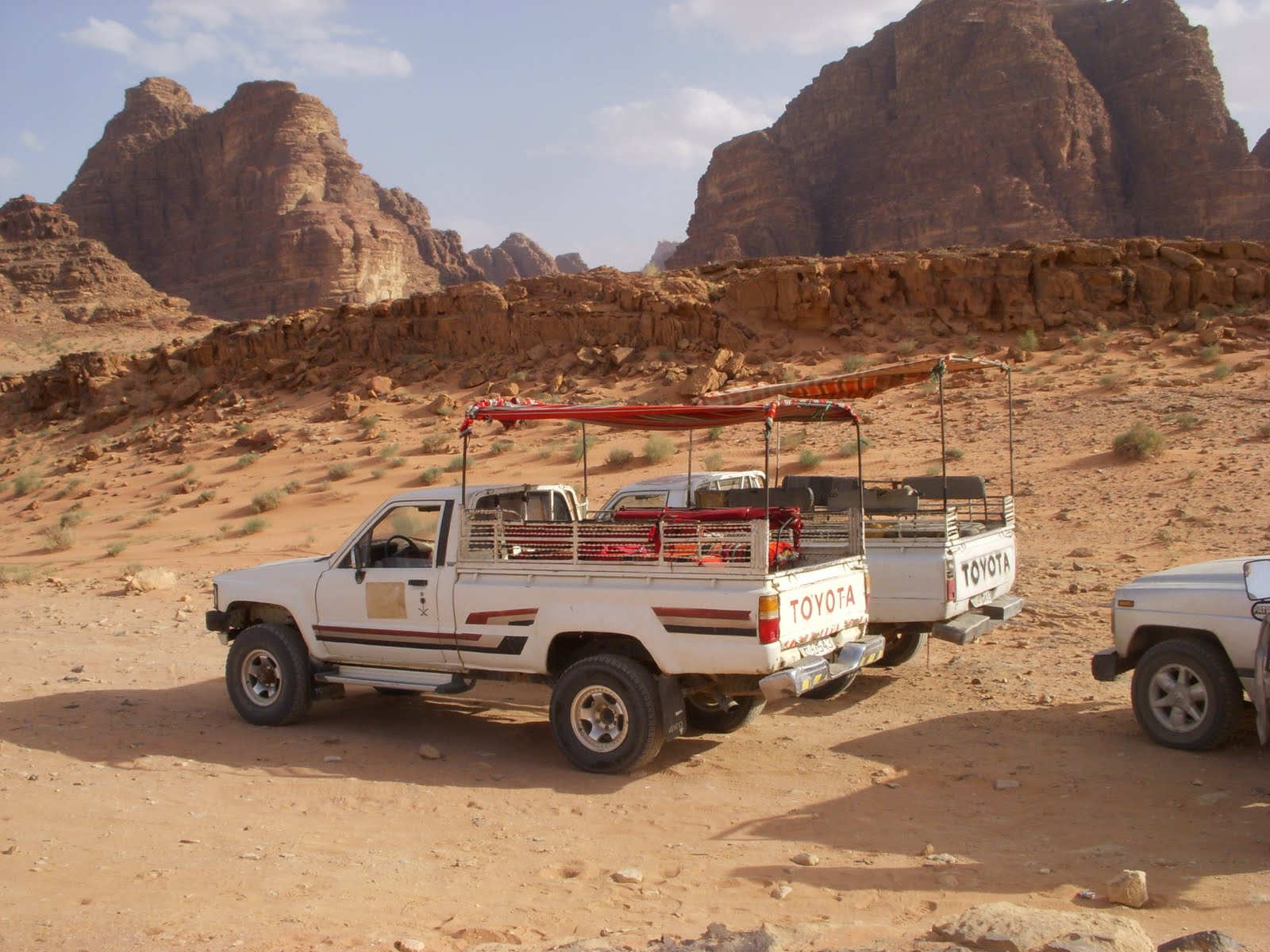 4x4 Jeep Tours in Wadi Rum, Jordan
