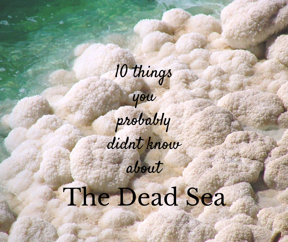 10 facts about the Dead Sea Jordan
