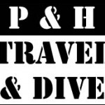 P&H Travel & Dive logo