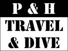 P&H Travel and Dive, Sweden, logo