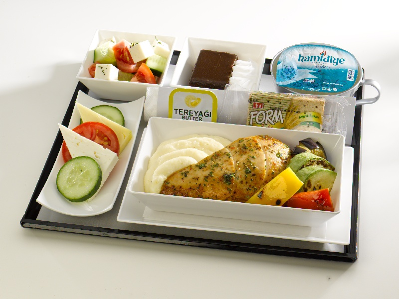 in flight meal Turkish airlines