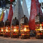 Ramadan lanterns decorations in Amman, Jordan