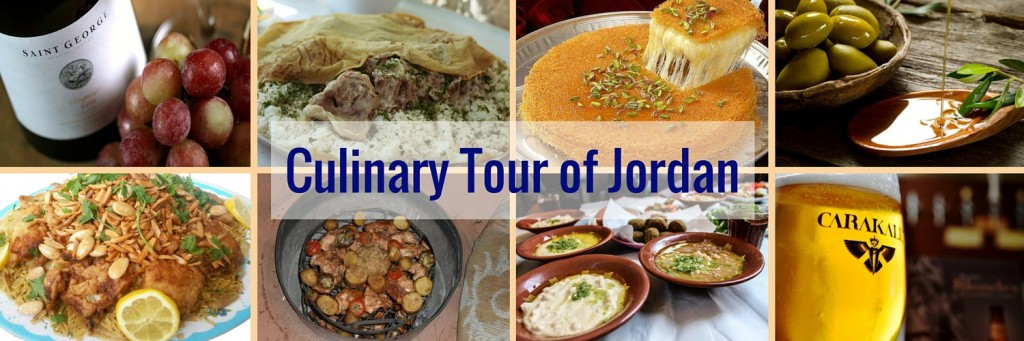 Tours of Jordan, food tours of Jordan, culinary tours Jordan