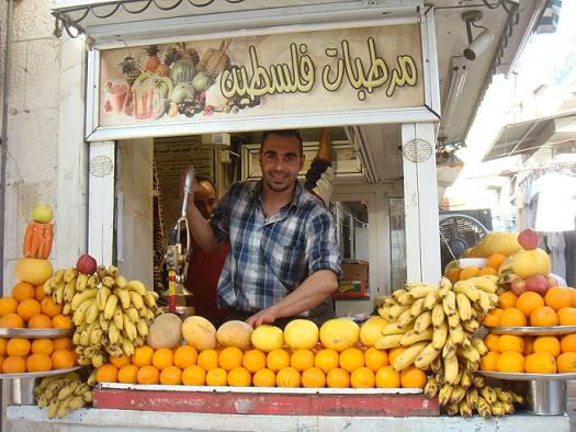 fresh fruit juice Amman, street food Amman, juice Jordan,