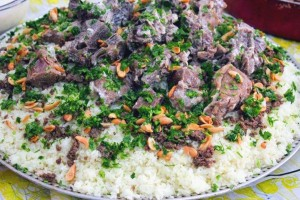 mansaf, jordan, karak, lamb and rice dish